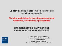 Actividad Emprendedora en Fases Tempranas (TEA)