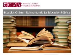 Slide 1 - California Charter Schools Association