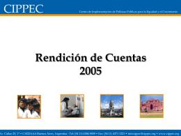 2005 - Cippec