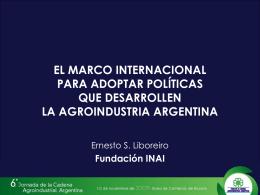 2. Políticas que empleó - Foro de la Cadena Agroindustrial Argentina