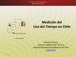 Medición del Uso del Tiempo en Chile