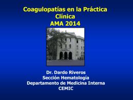 Presentación de PowerPoint - Sociedad de Medicina Interna de