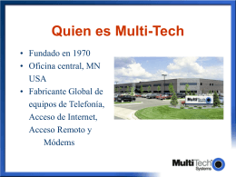 Quien es Multi-Tech