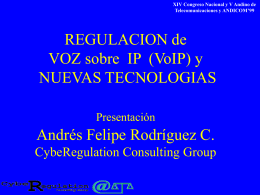 No Slide Title - Cyberegulation Consulting Group