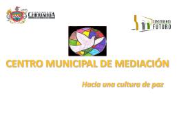 CENTRO MUNICIPAL DE MEDIACIÓN