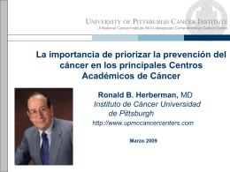 La importancia de priorizar la prevención del cáncer en los