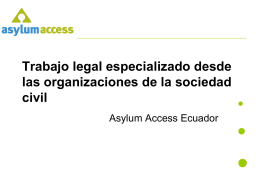 Asylum Access Refugee Legal Aid
