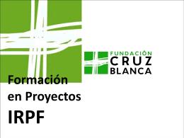 ¿Qué es el IRPF? - Fundación Cruz Blanca