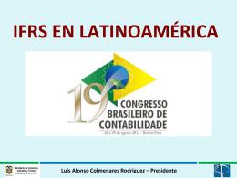 Luis Alonso Colmenares Rodriguez – Presidente