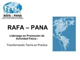 Presentación Rafa Pana
