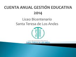 cuenta publica 2015lbst - Liceo Bicentenario Colina