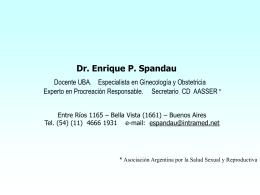 Presentación Anticoncepción Hormonal