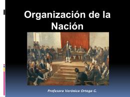 La organización de la República 1823