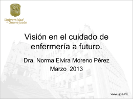 Overview of nursing care in the future in Spanish