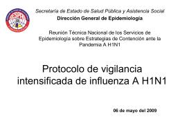 Diapositiva 1 - Ministerio de Salud Pública