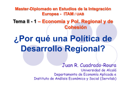 Tema 2.1 - Instituto de Estudios de la Integración Europea