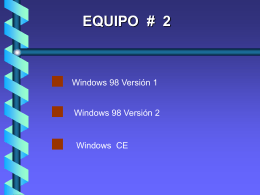 2.-windows 98/ce