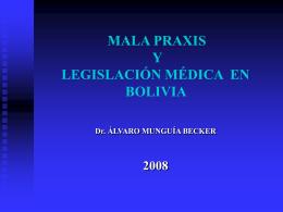 mala praxis medica - derecho medico doc