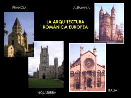 LA ARQUITECTURA ROMÁNICA: FRANCIA.
