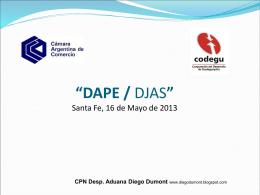 Descargar presentación - Despachantes Argentinos