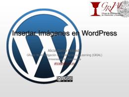 Insertar Imágenes en WordPress