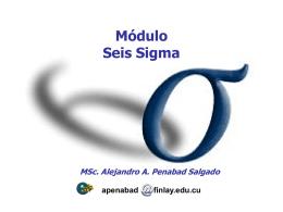 Módulo Seis Sigma