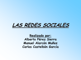 LAS REDES SOCIALES - powerpoint-redessociales