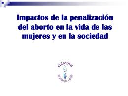Diapositiva 1 - Colectiva por el derecho a decidir