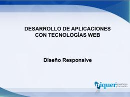 U4 – Hojas de Estilo Web – Diseño Responsive