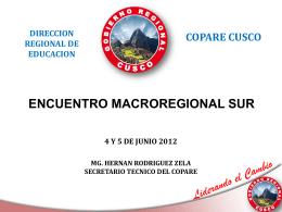 Hernán Rodriguez - Consejo Nacional de Educación