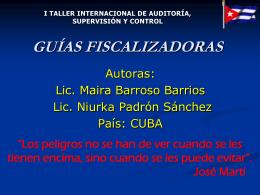 ppt - Contraloría General de la República de Cuba