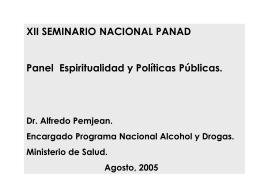 Presentación Dr. Alfrejo Penjeam