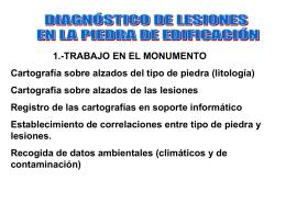 FORMAS DE ALTERACIÓN PRINCIPALES