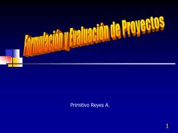 Curso Formulación Eval. Proyectos - Pres. - Contacto: 55-52-17-49-12