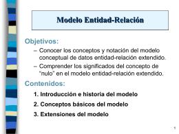 Conceptos básicos del modelo