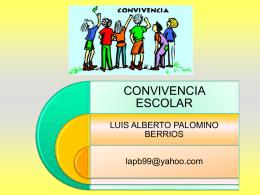 Unidad de Convivencia - Observatorio sobre la Violencia y