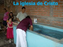 el bautismo 1 - Buscando a Jesús