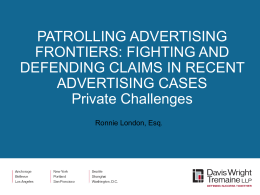 Patrolling Advertising Frontiers