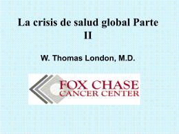 Global Health Crisis in Spanish