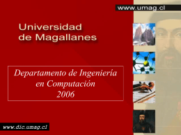 depto_comp - Laboratorio de Computación Universidad de
