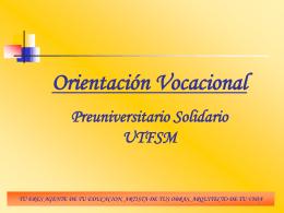 Orientacion Vocacion..