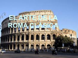 EL ARTE DE LA ROMA CLÁSICA