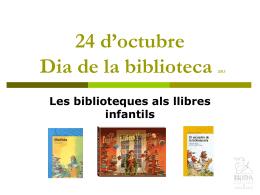 Les biblioteques als llibres infantils