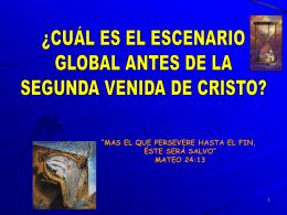 Diapositiva 1 - Cristo el Fundamento
