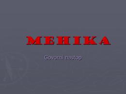MEHIKA - Dijaski.net