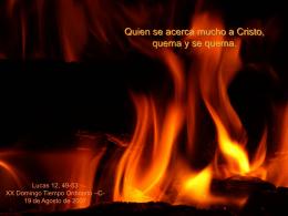 20 domingo Tiempo Ordinario -C-