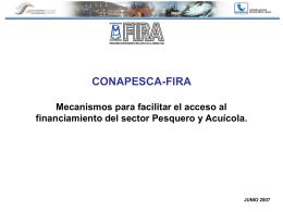 EL FIRA - CONAPESCA