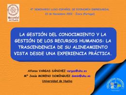 Ver presentación. - Universidad de Huelva