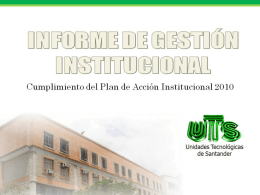 Diapositiva 1 - Unidades Tecnológicas de Santander