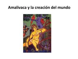 Amalivaca y la creación del mundo